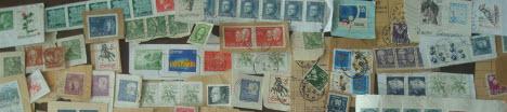 Svenska frimärksklipp, brevklipp